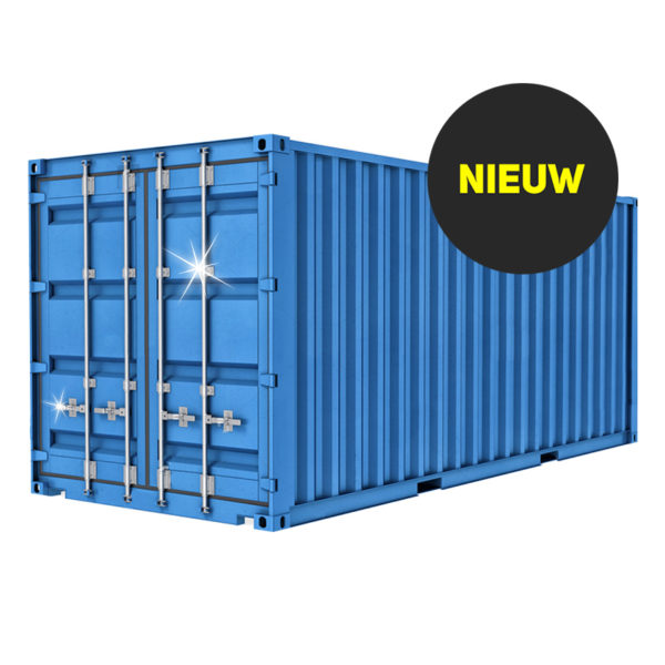 Nieuwe containers