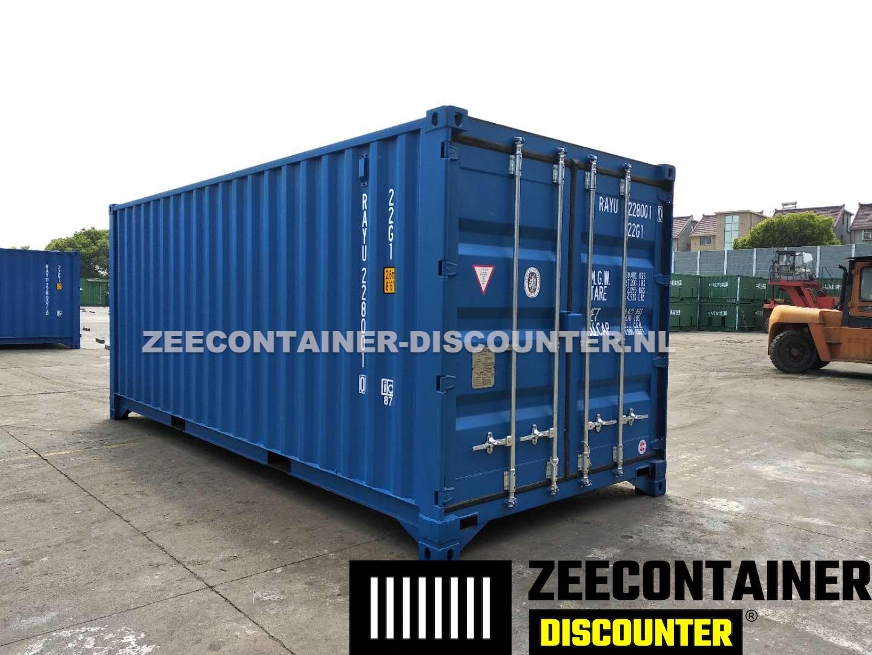 20ft low cube zeecontainer nieuw zeecontainer. Black Bedroom Furniture Sets. Home Design Ideas